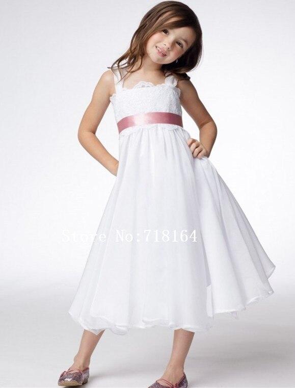 Popular Ivory Chiffon Flower Girl Dress-Buy Cheap Ivory Chiffon ...