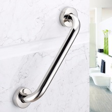 Safe Stainless Steel Home Bathroom Bathtub Handrail Wall Mounted Design Bathroom  Grab Bars Handle Armrest Newest Hot Sale