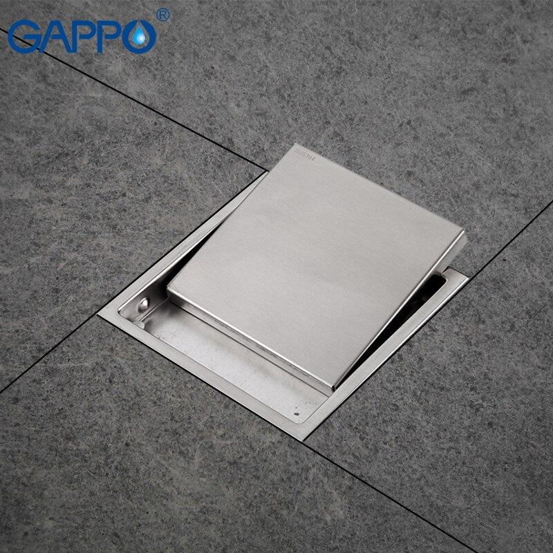 Gappo Drains Shower Drain Cover Bathtub Drain Sink Hole