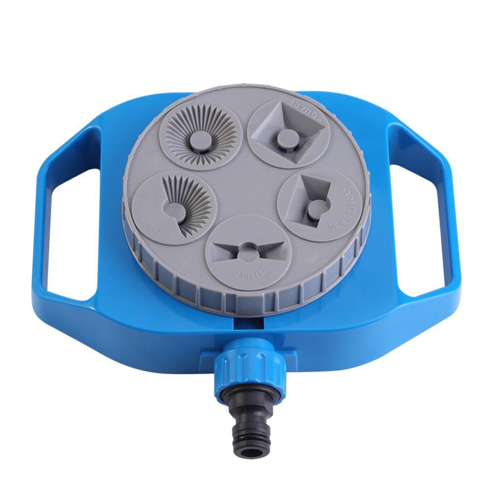 Kunststoff Automatische Rotation Einstellbar Wasser Sprinkler Bewässerung System Für Rasen Pflanzen Blumen Gartenarbeit Lieferungen Großen Spray