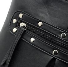 Hot design women Messenger bags for shoulder Crossbody bags rivet bag women leather bags women handbag brands bolsa feminina