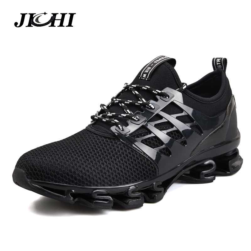 2019 Spring Men Casual Shoes Outdoor Breathable Jogging Sport Blade Shoes Fashion Men Walking Sneakers Big Size 39-47 Men2019 Spring Men Casual Shoes Outdoor Breathable Jogging Sport Blade Shoes Fashion Men Walking Sneakers Big Size 39-47 Men