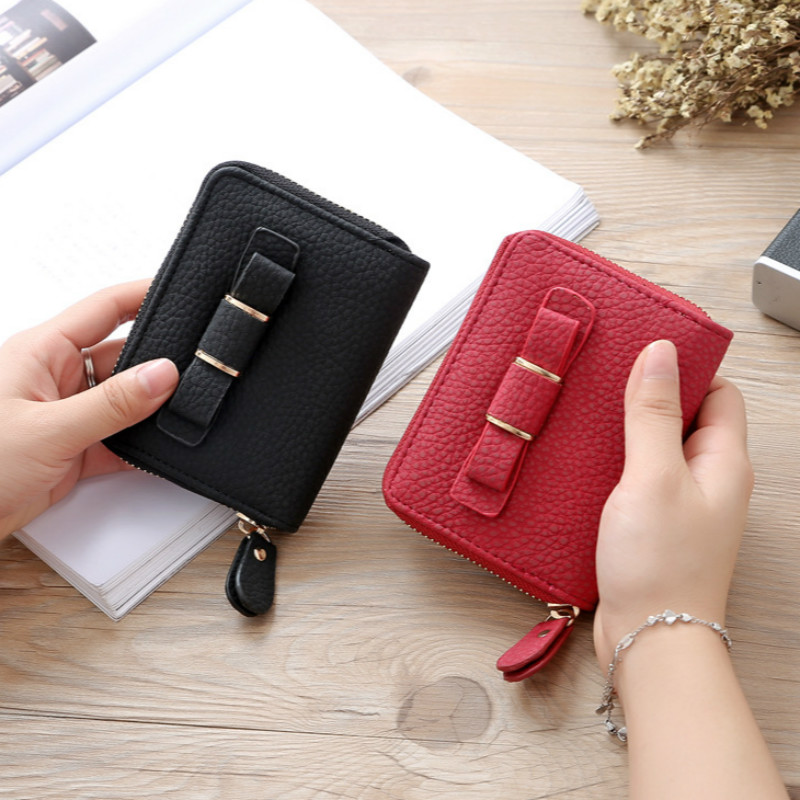 Leather Small women wallet short female purse designer brand coin purse mini Carteira Feminina 2016 fashion lady key card holder 2017 genuine cowhide leather brand women wallet short design lady small coin purse mini clutch cartera high quality