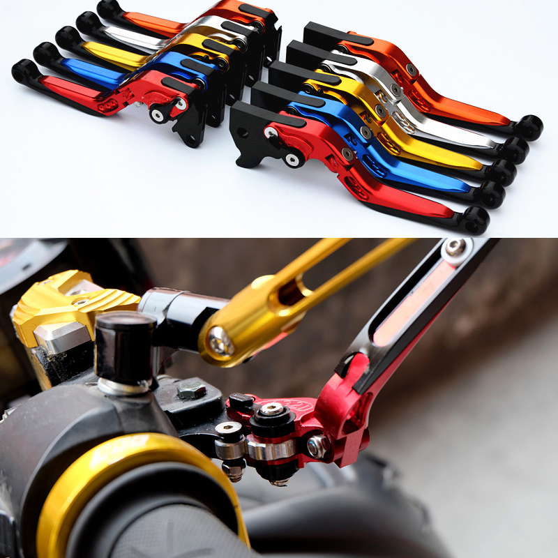 CNC Foldable Extendable brake clutch levers For YAMAHA BWS125 BWS 125 cnc foldable