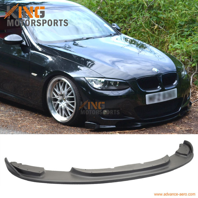 1ca4c6943db For 07 10 BMW E92 FRONT BUMPER LIP H STYLE M TEC ONLY URETHANE-in ...