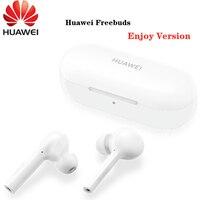 100%Original New HUAWEI Freebuds Enjoy Wireless Bluetooth 4.2 Earphone with Mic Music Touch Waterproof Handfree Dynamic Fashion