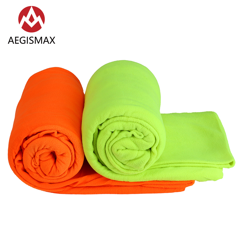 Aegismax Outdoor Fleece Sleeping Bag Envelope portable Camping Ultralight Sleeping Bags Summer Sleeping Bags Travel Liner