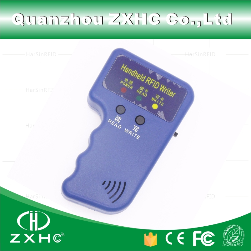 Handheld ID Cards 125KHz RFID Copier Reader Writer Duplicator Used For T5577 EM4305 Copy