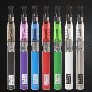 Image 2 - Ugo T 2 pil USB şarj blister kiti Elronic sigara sıvı değiştirilmiş Ego Ce4 atomiaer E cigs nargile Ce4 Vaper tava duman