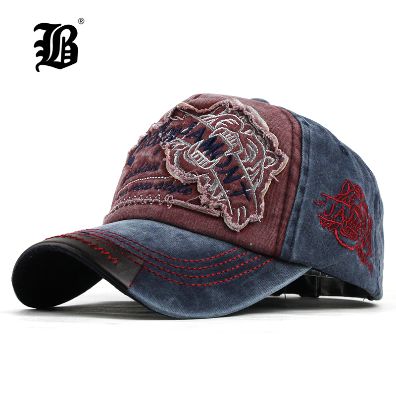 Men's Snapback Hat Baseball-Cap Pattern-Fitted-Cap FLB Casquette Embroidery Fashion Casual