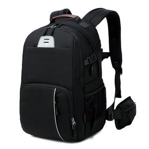 Image 3 - CAREELL  C3058 DSLR Camera Bag Photo Bag Camera Backpack Universal Large Capacity Travel Camera Backpack For Canon/Nikon Camera
