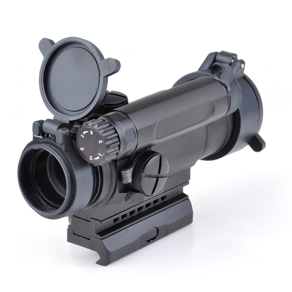 Red Dot Sight Optics Scope Tactical M4 Riflescope For hunting shooting tactical m4 1x40 red dot sight scope all aluminum alloy cnc hunting shooting r5565
