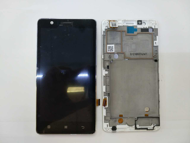 100% Original For Lenovo A536 LCD Display With Touch Screen Digitizer Assembly With frame Black White Color100% Original For Lenovo A536 LCD Display With Touch Screen Digitizer Assembly With frame Black White Color