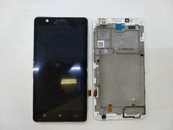 100% Original pour Lenovo A536 écran LCD avec écran tactile numériseur assemblée avec cadre couleur noir blanc