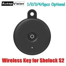 אלחוטי מפתח כרטיס עבור שרלוק חכם דלת מנעול S2, דלת מרחוק מפתח שליטה, אבזרים/חלקי חילוף עבור שרלוק S2 חכם מנעול