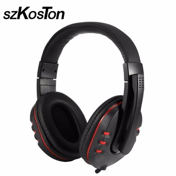 Wired Headphone Game Earphone USB Stereo Surrounded Gaming Headset For Ps4 Ps3 For Computer PC Gamer With Microphone