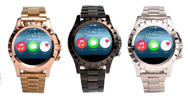 T2 K18 DM360 Smart Watch font b Smartwatch b font for Android Phone Heart Rate Monitor