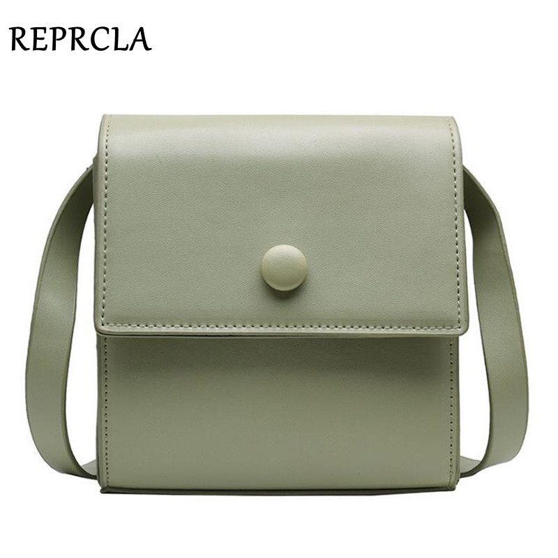 REPRCLA Fashion Summer Crossbody Bags High Quality Small Women Messenger Bag Ladies Handbag Phone Pocket PU Shoulder Bags