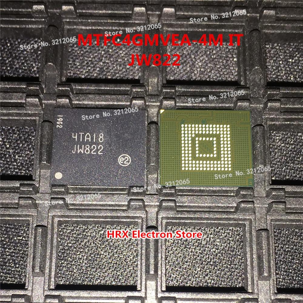 100% Yeni Orijinal MTFC4GMVEA-4M BU JW822 BGA EMMC100% Yeni Orijinal MTFC4GMVEA-4M BU JW822 BGA EMMC