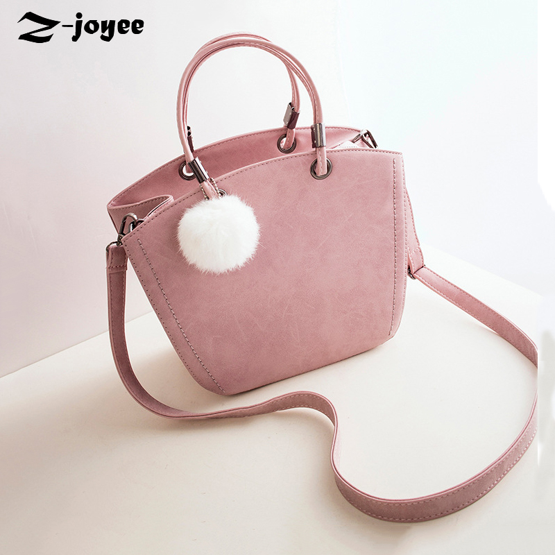 ФОТО Scrub Leather 2016 Designed Women Crossbody Bag Lady's Cute Handbags Women Solid Simple Shoulder Bag Candy Color Black Pink Gray