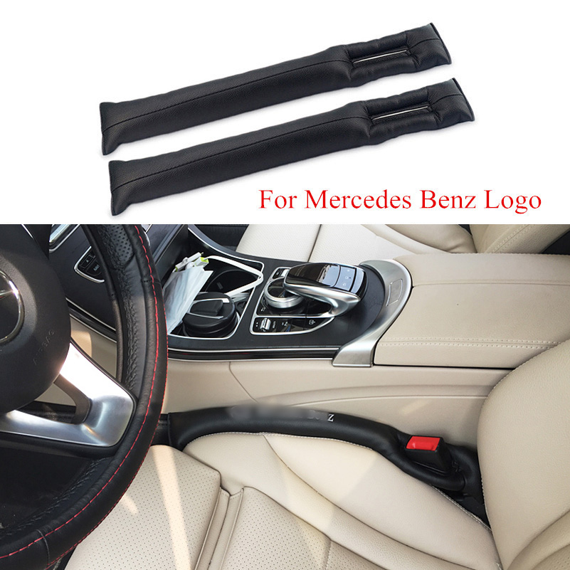 2x car seat gap pad plug seat leak cover interior for Mercedes benz accessories online store