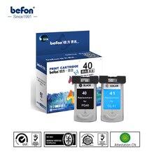 PG40 CL41 PG 40 CL 41 color ink cartridge for printers Canon PIXMA IP1180 1880 1980 2580 2680 MP145 198 228 476 308 318 2pcs