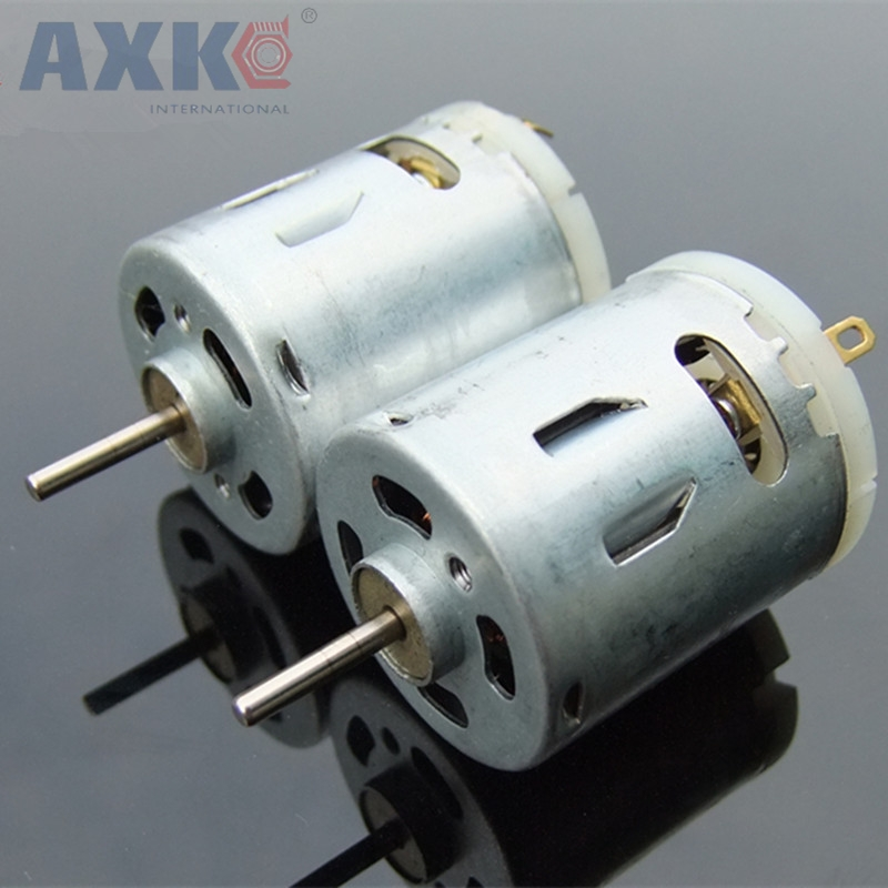 цены AXK 2pcs/lot C4 RS-365S 12V 14700RPM 24V 28000RPM High-speed Magnetic DC Motor With Varistor Motor 24V For Hair Dryer Motor