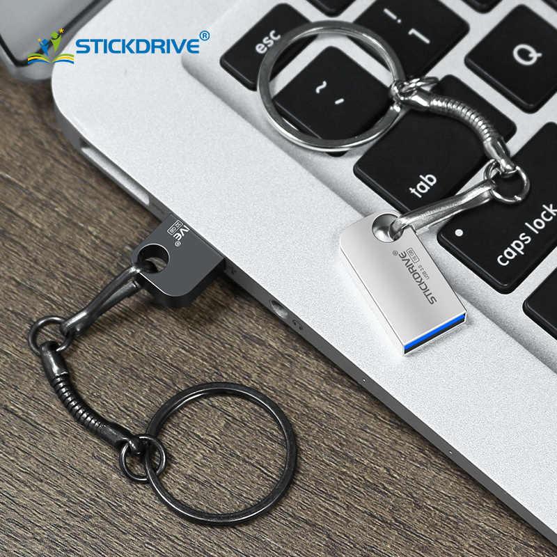 La capacidad Real de USB3.0 Pen Drive 32 GB 64 GB cle usb3.0 Pendrive 16 GB 8 GB 4 GB disco de memoria Micro USB de 64 GB