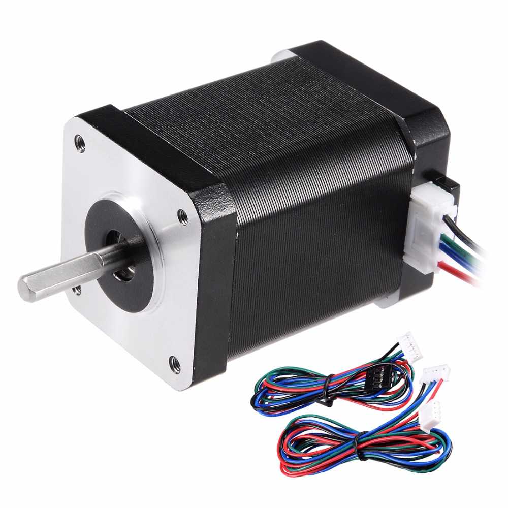 Stepper Motor 42 Bipolar 20mm 0.65NM 1.2A 3.5V 4 Lead Cable for 3D Printer CNC Router Laser Lathe Machine Stage Light Control люк хаммер гиппократ 200х200