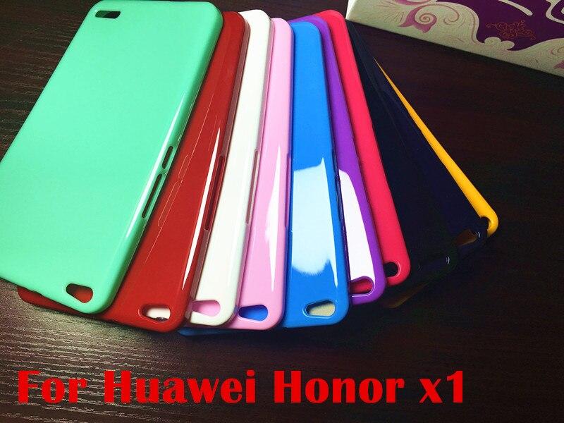 Coloré Cas Pour Huawei Honneur X1 & Mediapad X1 7.0 Médias Pad 7 7D-501U 7D-503L tablet case Souple En Silicone TPU Couverture Arrière cas