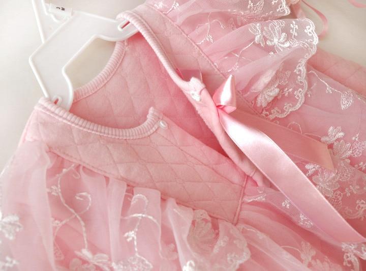 Bebé recién nacido ropa de niña de algodón de aire de invierno - Ropa de bebé - foto 3