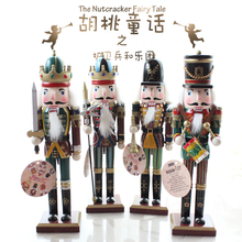 Special offer 30cm Nutcracker Christmas ornaments Home Furnishing puppet soldiers Zakka