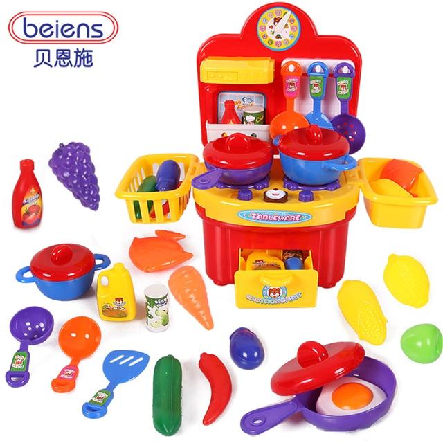 Enfants jouets ducatifs enfant cuisine simulation en plastique ustensiles de cuisine vaisselle - Cuisine plastique jouet ...