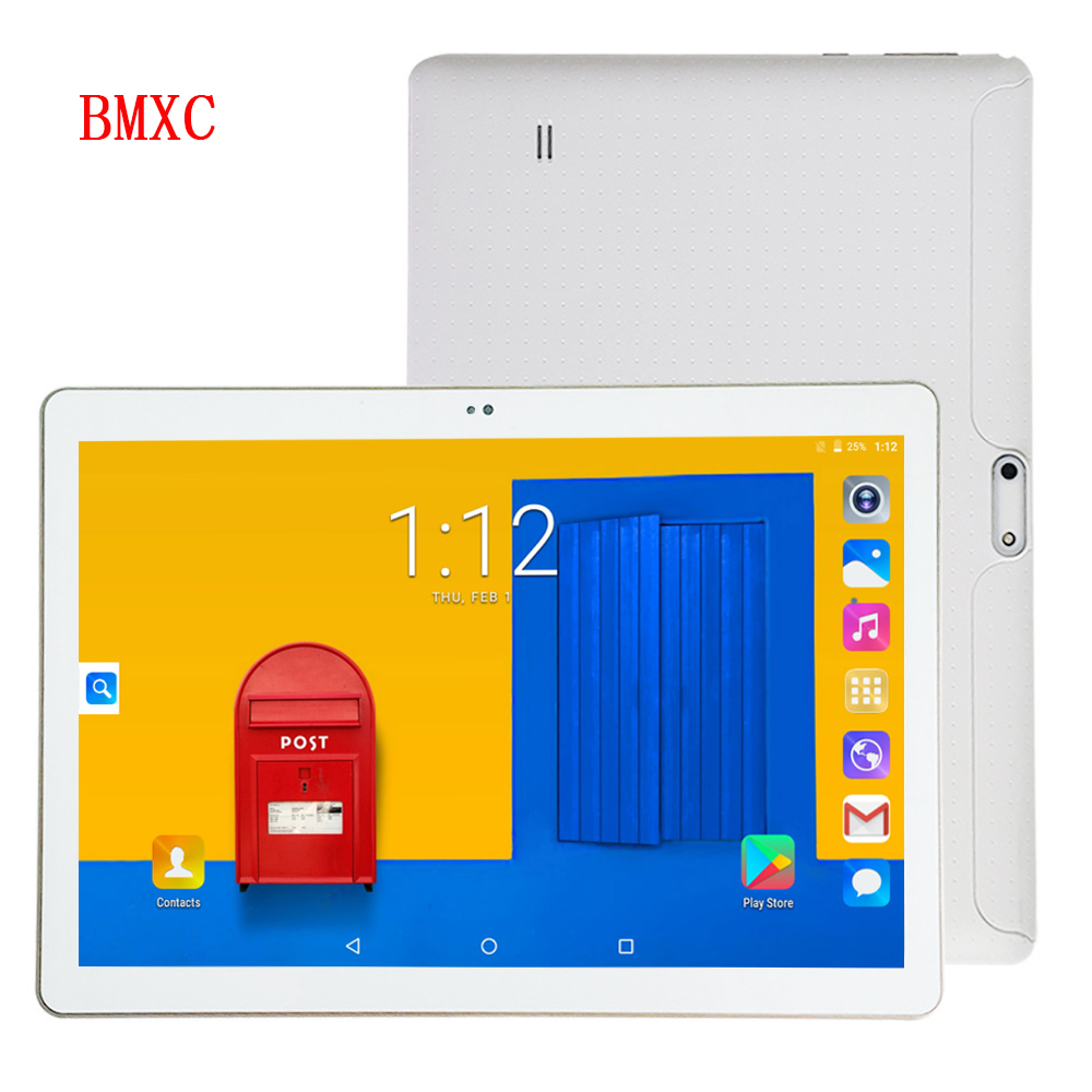 <font><b>DHL</b></font> Free Shipping 10.1 inch Google certification Android 7.0 Quad Core 3G <font><b>Smartphone</b></font> Tablet pc HD IPS WIFI bluetooth GPS