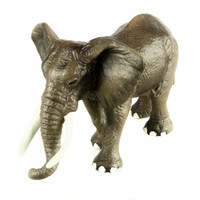 Starz Animals African Elephant Static Model Plastic Action Figures Educational Toys Gift for Kids