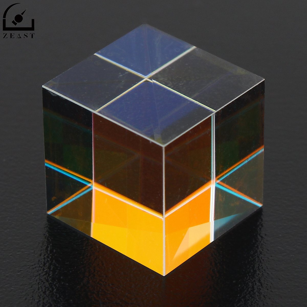 Prism Laser Beam Combine Cube Prism Mirror for 405nm~ 450nm Blue Laser Diode