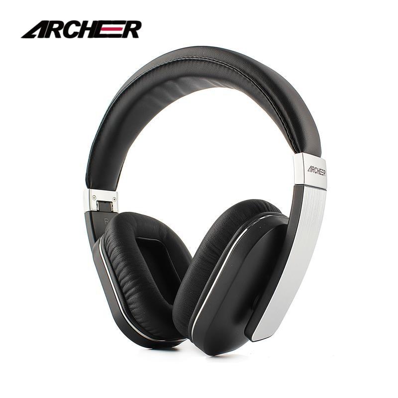 ARCHEER AH07 Bluetooth Pliable Casque Sans Fil Casque Stéréo Avec Micro Doux Oreillettes Casque Réglable 100% D'origine