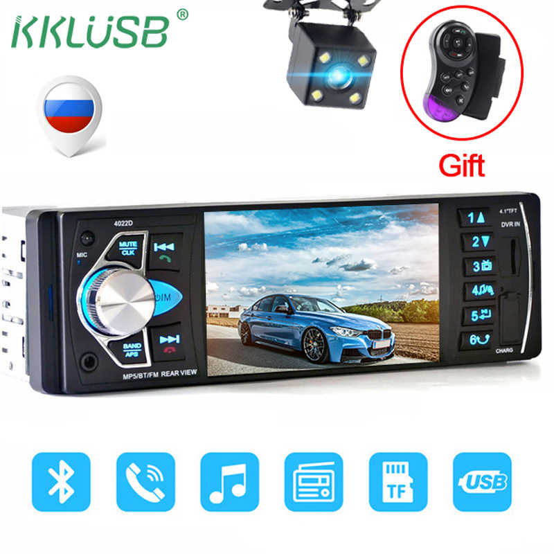 detail feedback questions about autoradio 4019b 1 din car radio autocar radio 1 din 4022d fm radio car auto audio stereo bluetooth autoradio support rearview camera