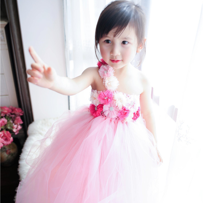 Dorable Vestido De Fiesta De Color Rosa Suave Ideas Ornamento ...