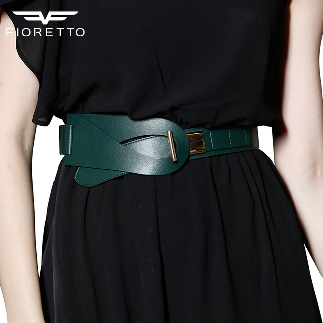 New Arrival Fashion Brand Belts for Women Genuine Leather Ladies Bests Famous Designer Luxury Waistband Wide Black Brown Blets