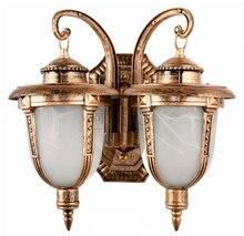 Наружный светильник бра водонепроницаемый вилла в европейском стиле балкон двери бра освещение на открытом воздухе стены