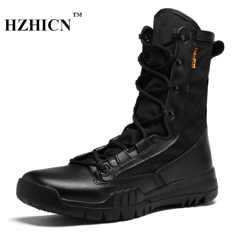 Hot Sale Desert Boots Leather Casual Shoes for Men Martin Boots Winter Retro Style Non-slip Snow Boots Army Lace Up Ankle Shoes