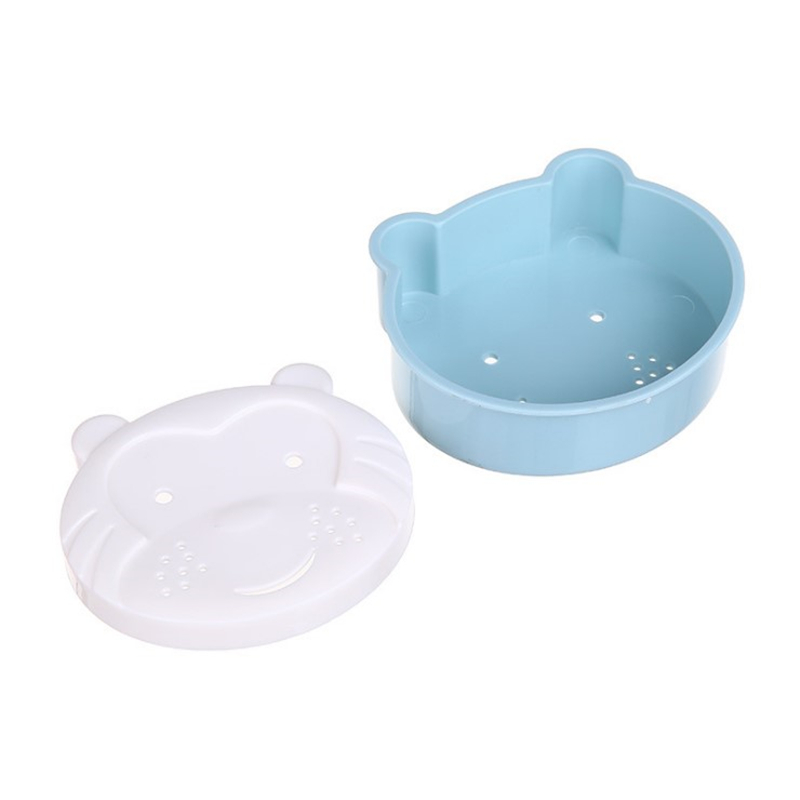 Symbol Of The Brand High Quality Cartoon Monkey Soap Box Multifunctional Double Draining Soap Dishes For Bathroom Accessory Hot Sale Fragrant In Flavor
