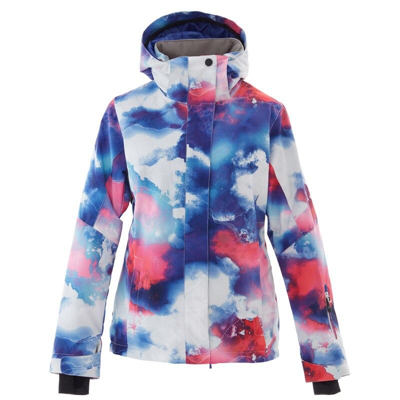 2019 Nuove Donne Giacca Da Sci Impermeabile Antivento Giacca Da Snowboard Inverno Neve Coat Donna Di Inverno Caldo Cappotto Giacca Da Sci Femme