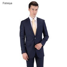 Custom made mens wool terno slim suit with pants customized men clothes costume homme 3 pieces suits for wedding clothing