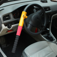 New Universal Heavy Duty Anti Theft Car Van Steering Wheel Lock Security Crook