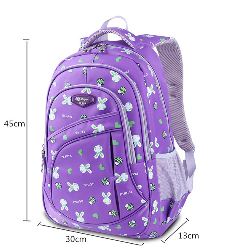 67cb9aa4ffb New Fashion Children School Bags for Girls Backpack Female Kids Book Bag  Child Printing Backpacks for Teenage Girl Schoolbag