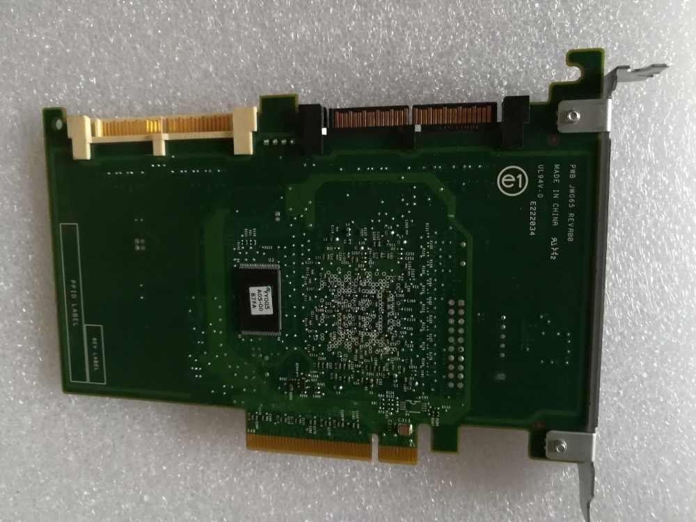 adapter for DELL PERC 6IR R610 R710 8 ports SATA SAS CR679 JW063 YK838 HDD  RAID Controller card host card 1068E chipset RAID 0/1