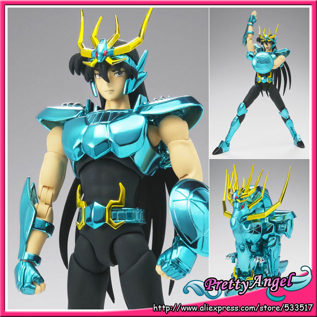 цена на Japanese Anime Original Bandai Saint Cloth Myth EX Dragon Shiryu (Shinsei Bronze Cloth)