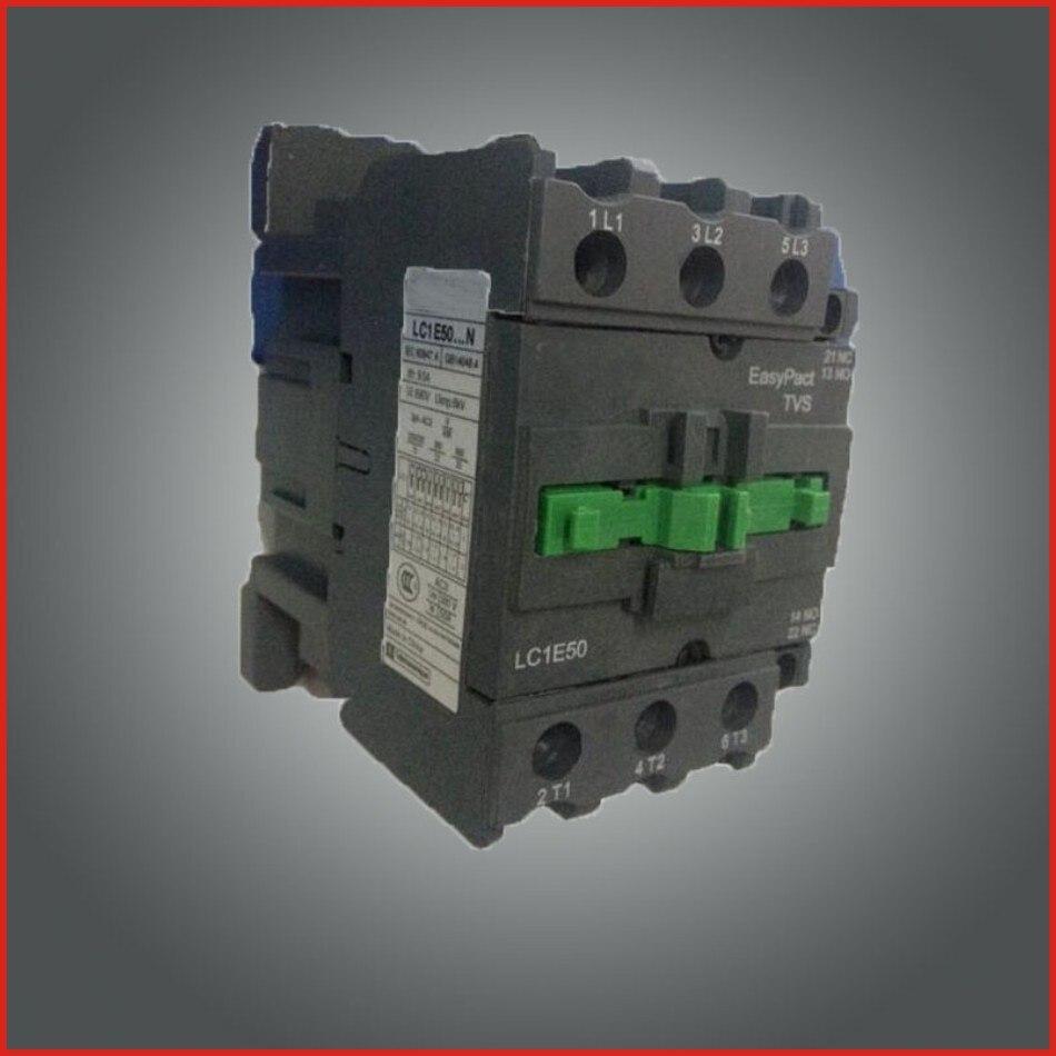 Contactor DC AC contactor 220V 380V low voltage apparatus switch mini hdmi LC1E series contactor old type LC1-E50 CJX2-E50 dc contactor gmd 9 dc110v 24v ac contactor 220v 380v